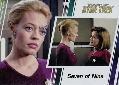 Women Of Star Trek 50th Anniversary Promo Card P2