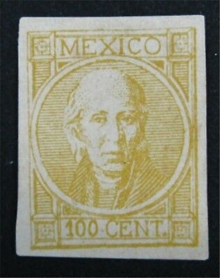 nystamps Mexico Stamp # 64 Mint Proof