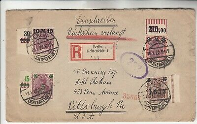 Nice Germany Registered Cover