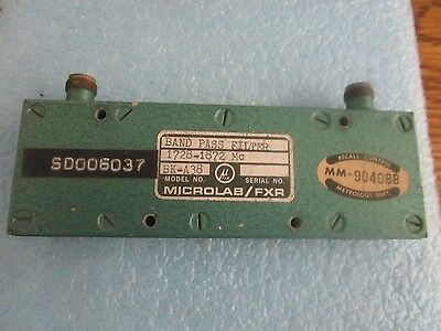 Microlab / Fxr Modell: Bk-a38 Band Pass Filter <