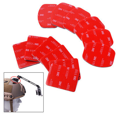 12pcs Helmet Accessories Flat Curved Mount Adhesive for Gopro Hero 2/3/4 OS085
