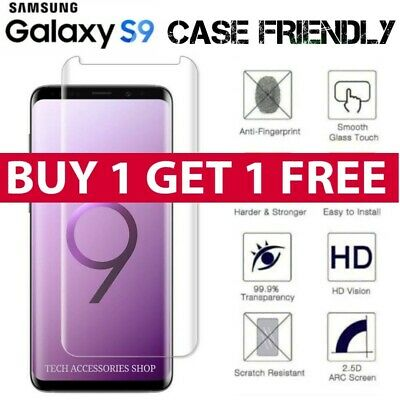 For Samsung Galaxy S9 5D Full Curved Tempered Glass LCD Screen Protector