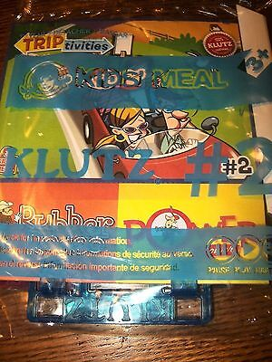 Wendy's Klutz Trip Activities Rubber Rodeo and Power Flower Kids' Meal Toy  #2