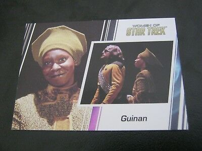 Star Trek Women of # 39 Whoopi Goldberg - Guinan - 2017                       ZT
