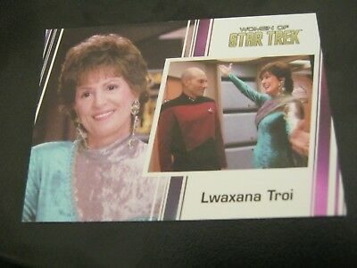 Star Trek Women of # 51 Majel Barrett - Lwaxana Troi - 2017                   ZT