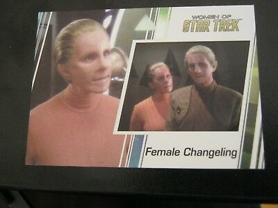 Star Trek Women of # 73 Salome Jens - Female Changeling - 2017                ZT