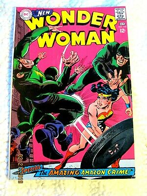 Wonder Woman #172 (1967) 5.5 FN- Silver Age DC Comics