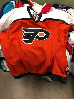Philadelphia Flyers Vintage NHL Hockey Jersey 90's Center Ice Authentic Tags!!!