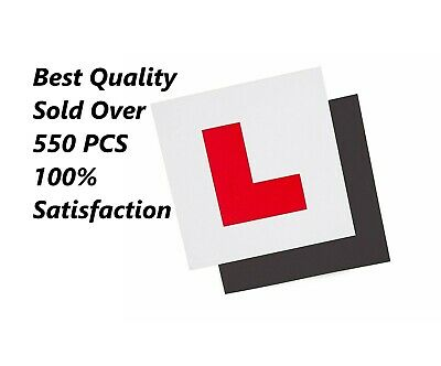 L Plates For Car Learner Fully Magnetic Learning to Drive Exterior Secure 1 Pcs