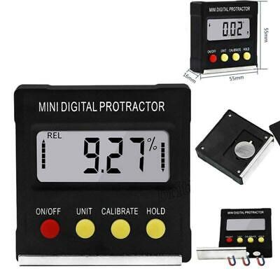 Mini Digital Inclinometer Level Box Protractor Angle Finder Bevel Gauge Magnet y