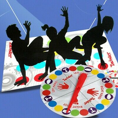 NEW Twister-Game Funny Kids Family Body Twister-Moves Mat Board Game Sport Toy
