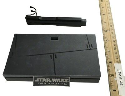 Hot Toys Star Wars Return of the Jedi Emperor Palpatine Display Stand 1:6 Scale