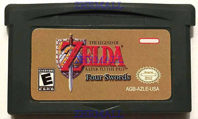 The Legend of Zelda a Link to the past four Swords USA Advance Game Boy GBA