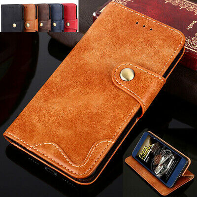 Genuine Case Leather Flip Wallet Cover For Apple iPhone XS Max XR X 8 7 6S Plus