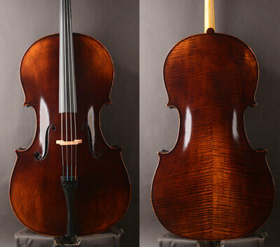 "Best model A Stradivari 1700 ""Stauffer Ex Cristiani"" Copy! Open deep warm !"