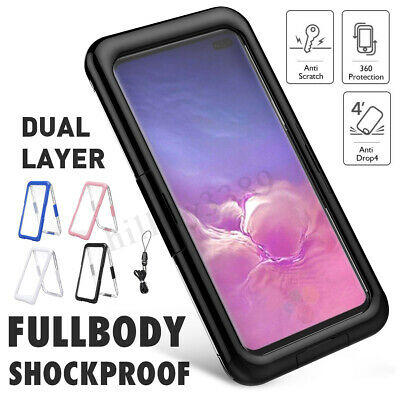 For Samsung Galaxy S10/S10 Plus Waterproof Shockproof Dirt Proof Case Full