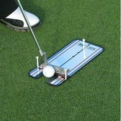Portable Golf Putting Mirror Training Eyeline Alignment Practice Trainer Aid New