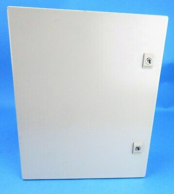 Himel Steel Enclosure & Mounting Plate CRNKT 500 X 400 X 150mm No Key Box New