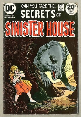 Secrets of Sinister House Mark Jewelers #13MJ 1973 VG 4.0