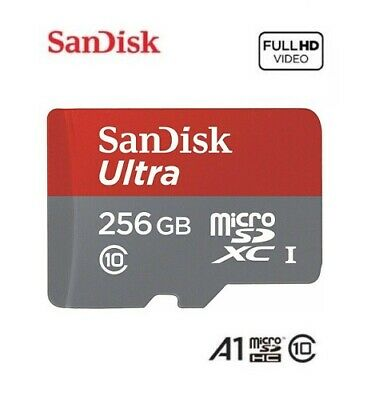 New SanDisk 64 128 256GB Ultra A1 Micro SD SDHC SDXC Card 95/MBs UHS-I Class 10