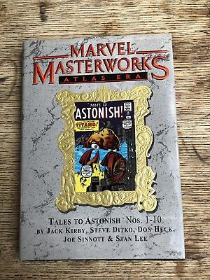MARVEL MASTERWORKS 57 TALES TO ASTONISH 1-10 Great condition 1st ed Lee Kirby