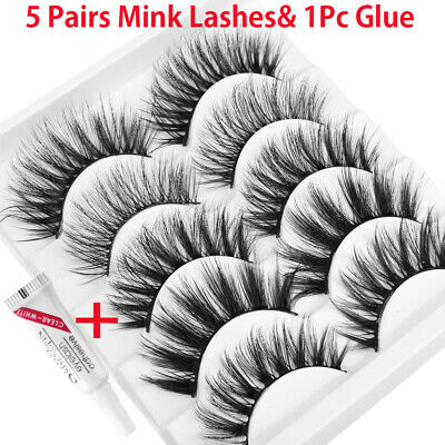 Mixed Styles Eye Lashes Extension Natural Long  False Eyelashes 3D Mink Hair