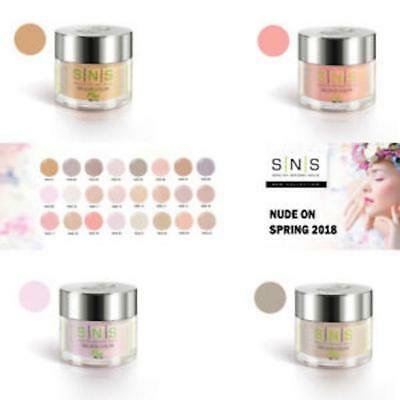 SNS NUDE ON SPRING NOS, NUDE, AU N SIGNATURE NAIL SYSTEMS 1oz colours Australia