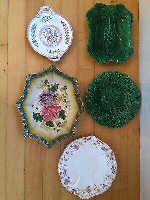 Antique china serving dishes