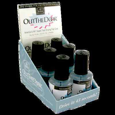 INM Out The Door Professional Top Coat 15mL SUPER FAST DRYING FREEPOST AUSTRALIA