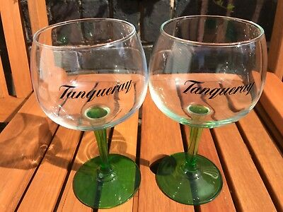 TANQUERAY GIN BALLOONS GLASSES NEW X2 STUNNING DESIGN.