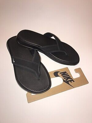 c3fb10782e354e Nike Men s 882691 002 Ultra Celso Thong Men s Black White Flip Flop Sandals  NWT