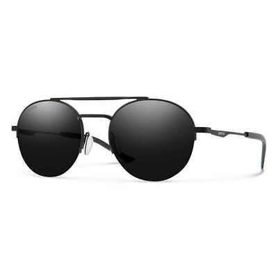 d2a953bc66d Smith Optics Transporter Sunglasses - Matte Black Frame ChromaPop Polarized