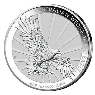 Wedge Tailed Eagle 1 oz Silber 2019 Australien