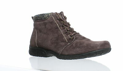 a0cd7493e3343 PROPET WOMENS DELANEY Brown Ankle Boots Size 9.5 (175894)