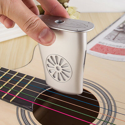 Acoustic Guitar Humidifier - Easy to Eliminate Fret & Wood Cracks(silver)