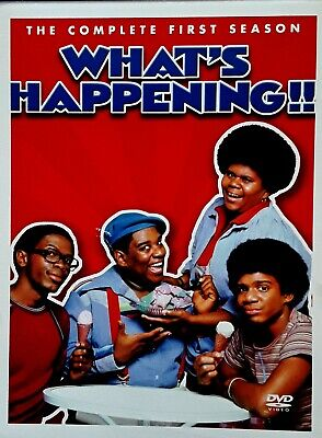 What's Happening - Ernest Thomas - Complete First Season -  (3) Dvd Box Set