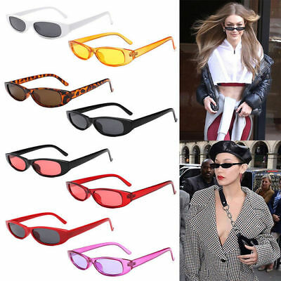 Vintage Small Frame Sunglasses Retro Women Rectangle Uv400 Eyewear Fashion Shade
