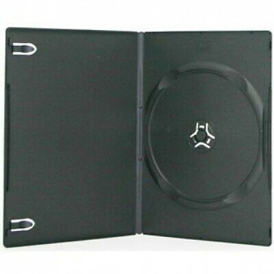 200 SLIM Black Single DVD Cases 7MM