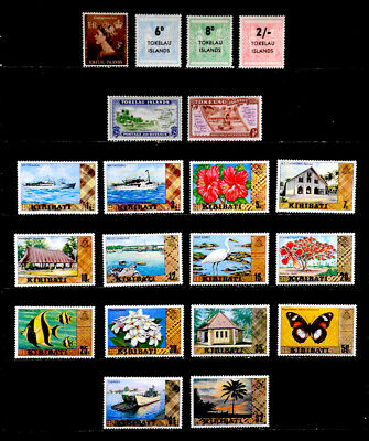 Tokleau Islands, Kiribati, British: Stamp Collection Unused With Sets