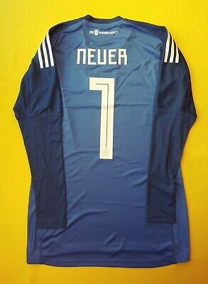 38916963a83 5+/5 Neuer Germany goalkeeper jersey small 2018 shirt BR7831 soccer Adidas  ig93