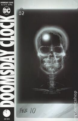 Doomsday Clock (DC) #5A 2018 Frank Variant NM Stock Image