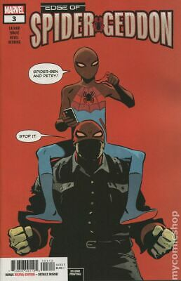 Edge of Spider-Geddon #3C 2018 Zonjic Variant 2nd Printing NM Stock Image