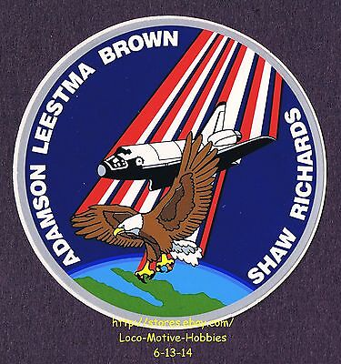 United Sticker Navette Spatiale Nasa Usa Astronaute Space Panoramas 9cm Fusee Av131 Buy Now Badges, Insignes, Mascottes