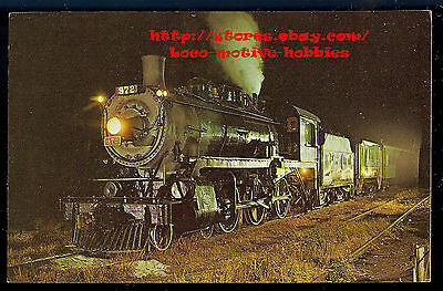 Lmh Carte Postale 1971 Canadien Pacific 4-6-0 CP 972 Maillot Central Excursion