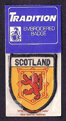 Lmh Patch Badge Royaume Écosse Red Lion Royal Blason King Scots Jaune