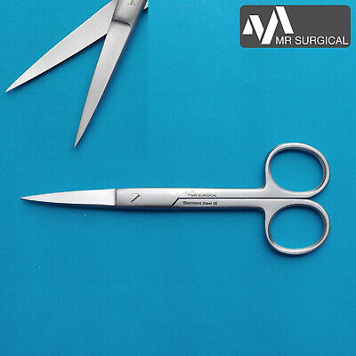 Operating Dressing Dissecting Scissors Straight Medical Shears Surgical 5.5""