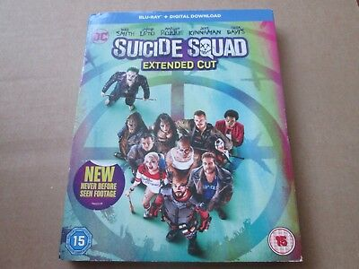Suicide Squad (Blu-ray Disc, 2-Disc Set, 2016) NEW AND SEALED