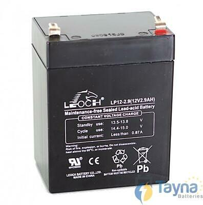 Leoch LP12-2.9 12V 2.9Ah Sealed Batterie
