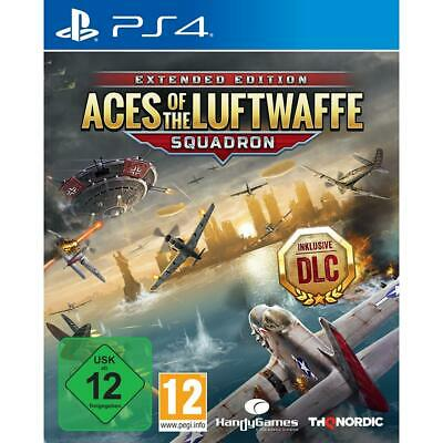 Aces of the Luftwaffe Squadron Edition Sony PS4 Spiel inkl DLC NEU&OVP