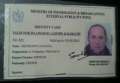 Ministry 4 Pakistan Person Information amp; Tv France French Broadcasting 99 Card 1 Picclick Id -